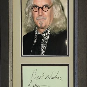 Billy Connolly was born and raised in Glasgow, Scotland. He left school to work in the shipyards becoming a welder