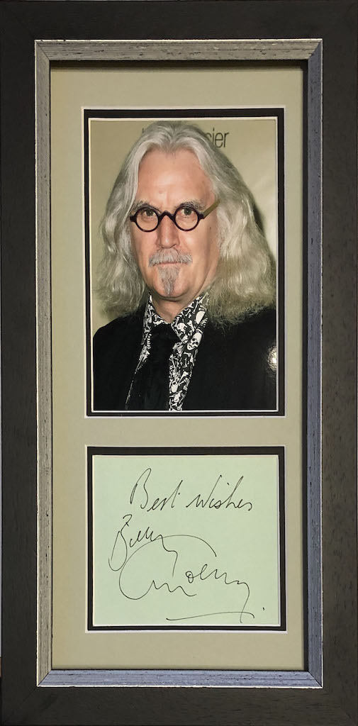 Billy Connolly Framed Autograph