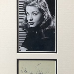 Lauren Bacall born Betty Joan Perske; September 16, 1924 – August 12, 2014