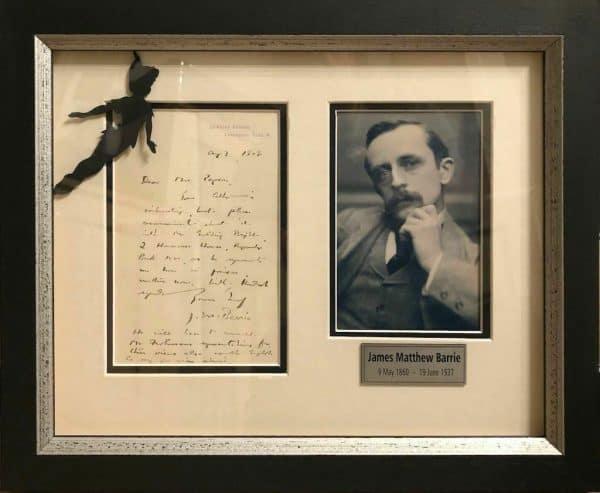 J M Barrie Autograph