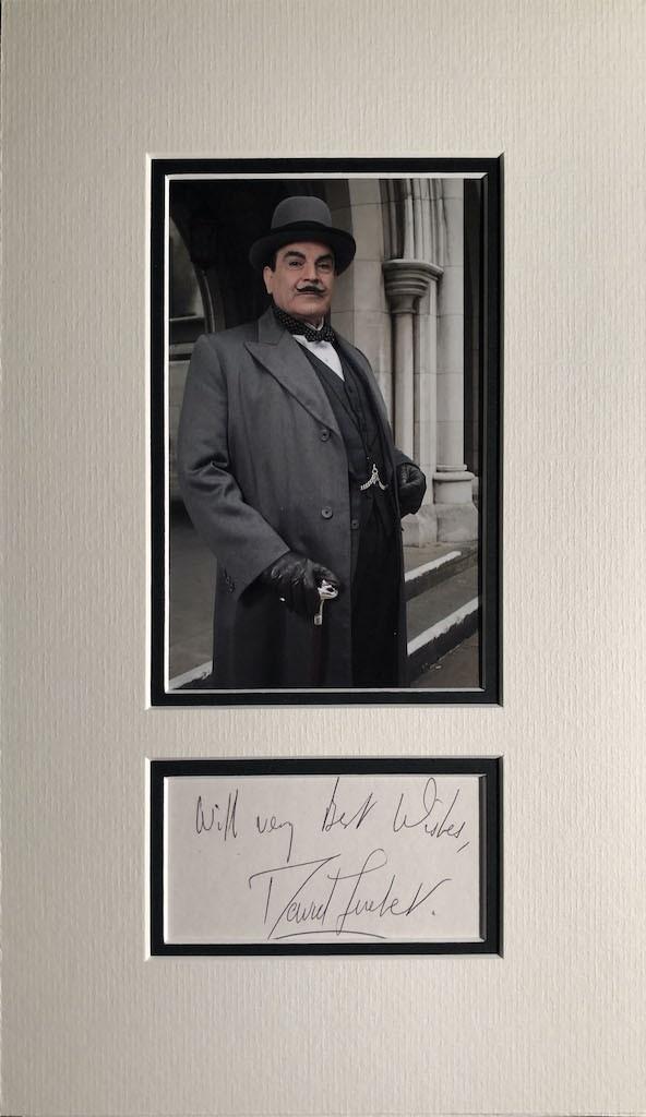 David Suchet Autograph
