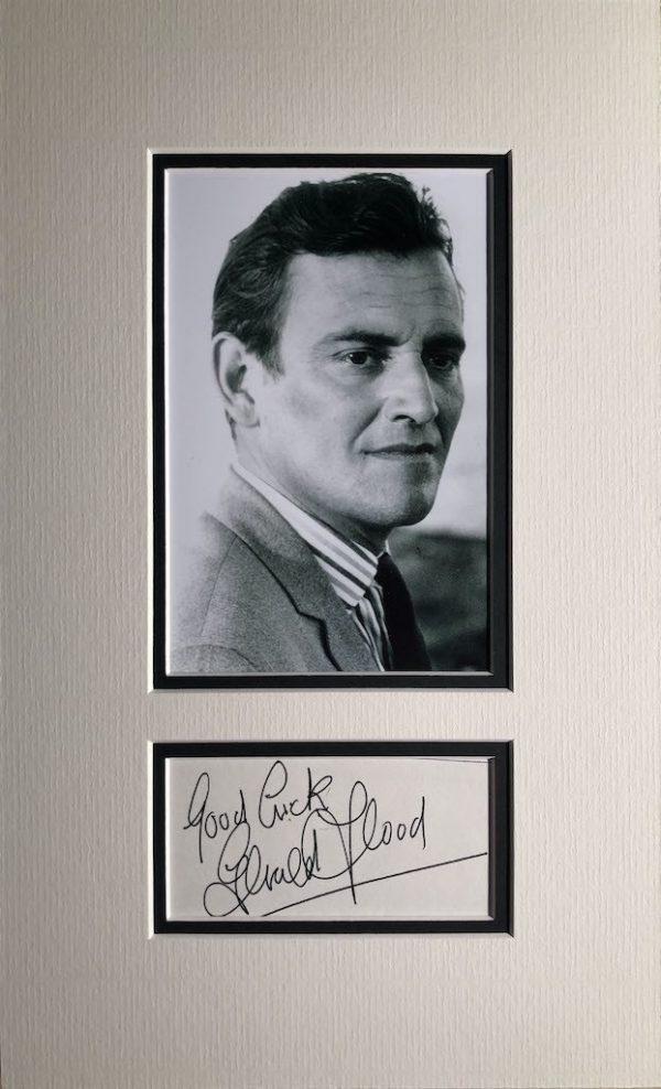 Gerald Flood Autograph