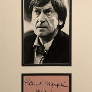 Patrick Troughton was born on 25 March 1920 and grew up in North London, where he was educated at Mill Hill Public School