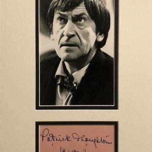 Patrick Troughton Autograph