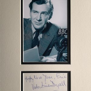 Valentine Dyall (7 May 1908 – 24 June 1985) was an English character actor
