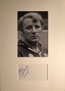Tommy Docherty Autograph Mounted