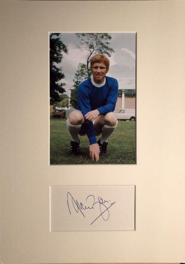 Alan Ball Autograph