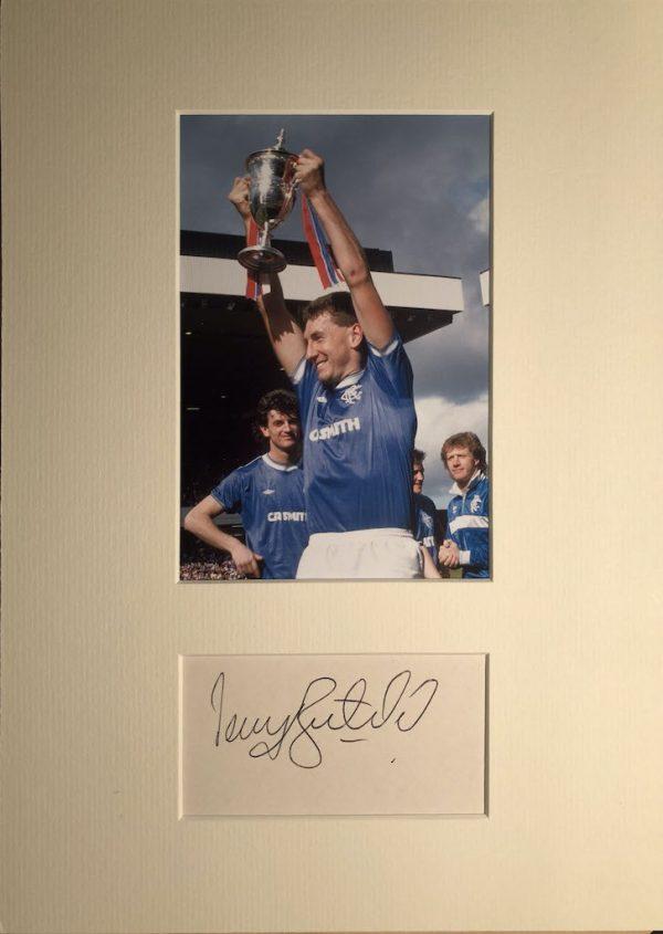 Terry Butcher Autograph