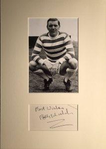 Bobby Murdoch Autograph Mounted