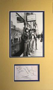 The Ramones Autograph