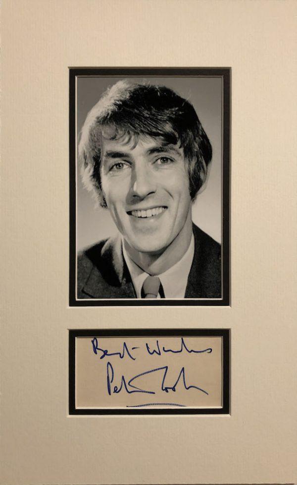 Peter Cook Autograph