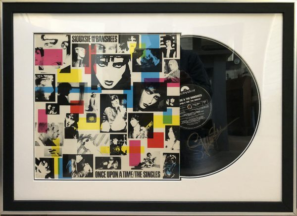 Siouxsie and the banshees Framed Display