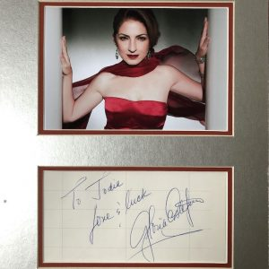 Gloria Estefan (born Gloria María Milagrosa Fajardo García; September 1, 1957) is a Cuban-American singer, songwriter, actress and businesswoman