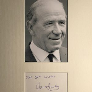 Sir Alexander Matthew Busby, CBE, KCSG (26 May 1909 – 20 January 1994) was a Scottish football player and manager