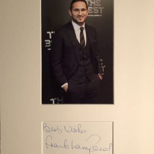 Frank James Lampard OBE (born 20 June 1978) is an English professional football manager and former player.