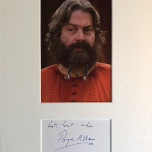 Roger William Allam (born 26 October 1953) is an English actor, known primarily for his stage career, although he has performed in film, television and radio,