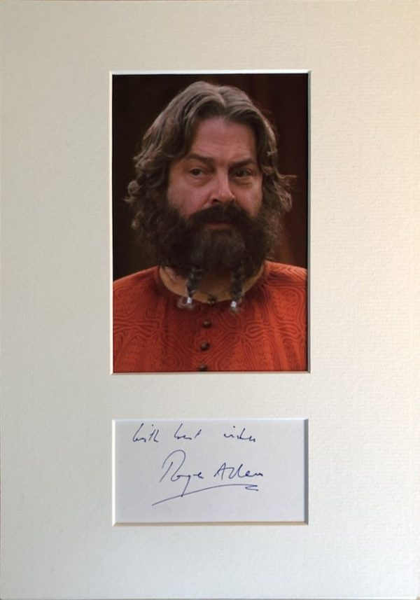 Roger Allam Autograph Page
