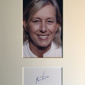 Martina Navratilova; born Martina Šubertová pronounced [ˈmarcɪna ˈʃubɛrtovaː]; October 18, 1956) is a Czechoslovak-born American former professional tennis player and coach