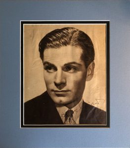 Laurence Olivier Autograph Magazine Page