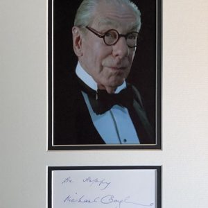 Francis Michael Gough was an English character actor who made over 150 film and television appearances, he is known for his roles in the Hammer Horror Films from 1958.