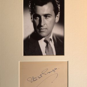 Stewart Granger was born James Leblanche Stewart in London, the grandson of the actor