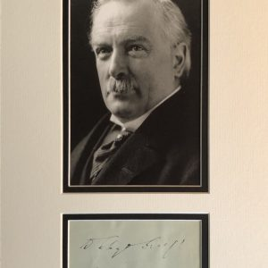 David Lloyd George, 1st Earl Lloyd-George of Dwyfor, OM, PC (17 January 1863 – 26 March 1945) was a Welsh statesman who served as Prime Minister of the United Kingdom from 1916 to 1922