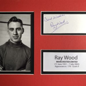 Raymond Ernest Wood (11 June 1931 – 7 July 2002) was an English professional footballer who played for Manchester United