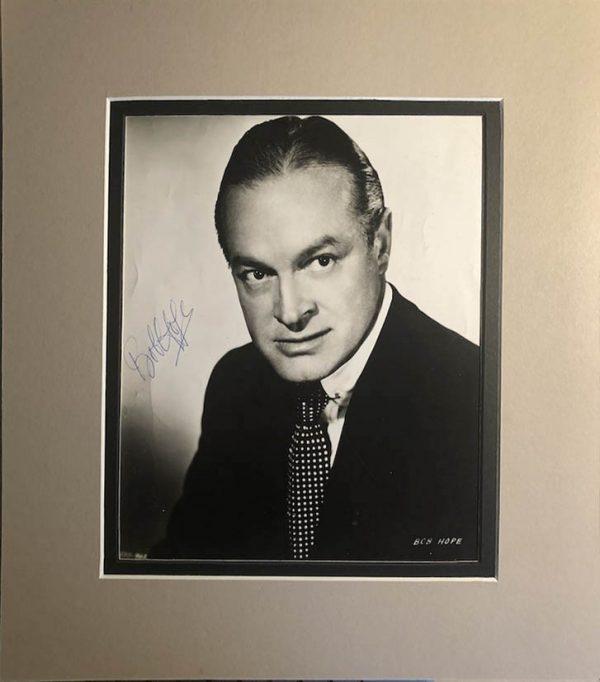 Bob Hope Autograph Photograph