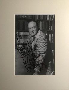 Bob Hope Autograph Photo
