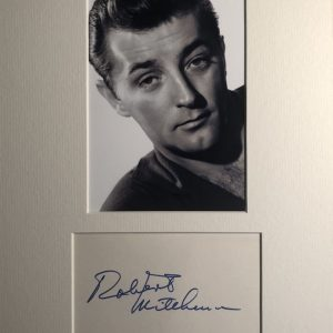 Robert Charles Durman Mitchum (August 6, 1917 – July 1, 1997) was an American actor, director, author, poet, composer, and singer