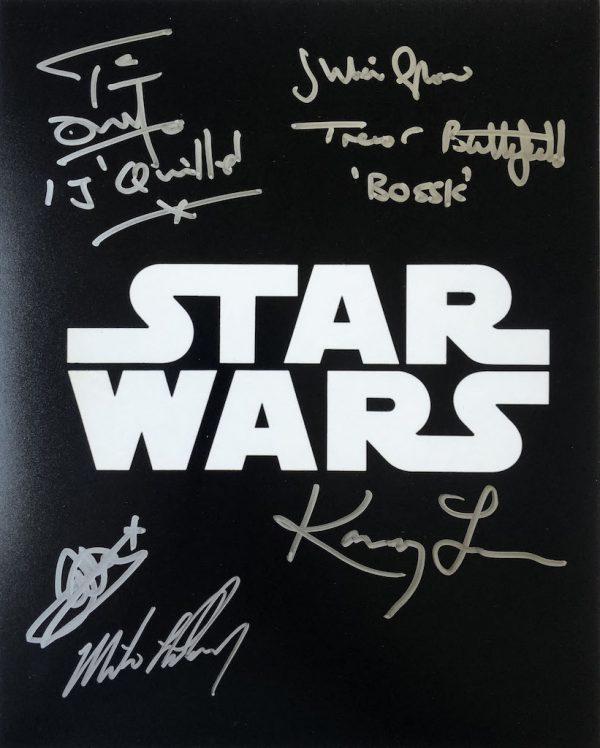 Star Wars Multi Autographs