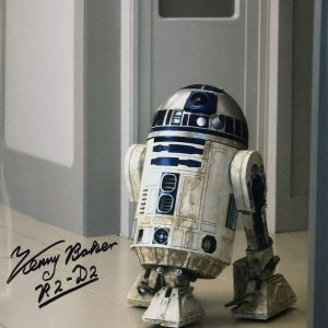 Kenny Baker known for portraying the beloved droid R2-D2 in the first six Star Wars films