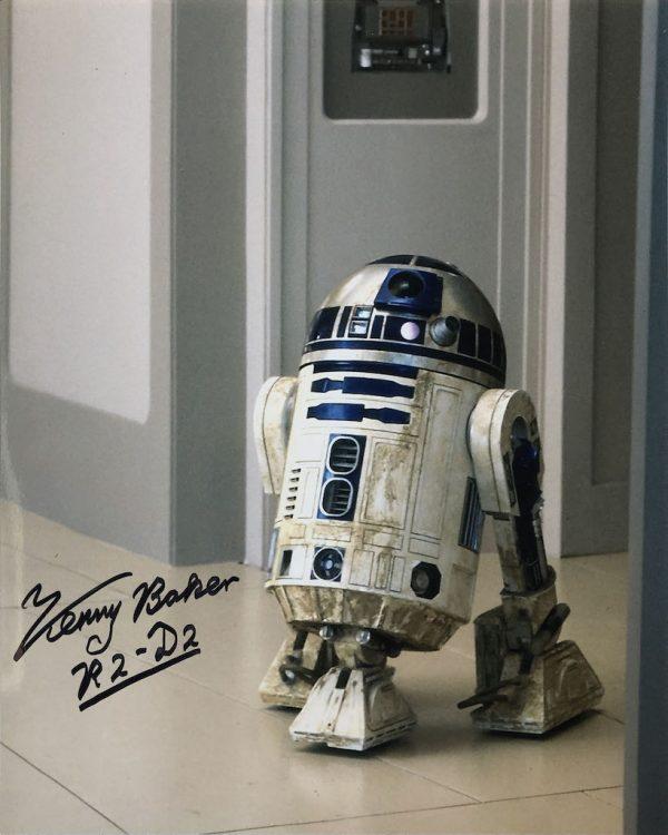 Kenny Baker Autograph R2-D2