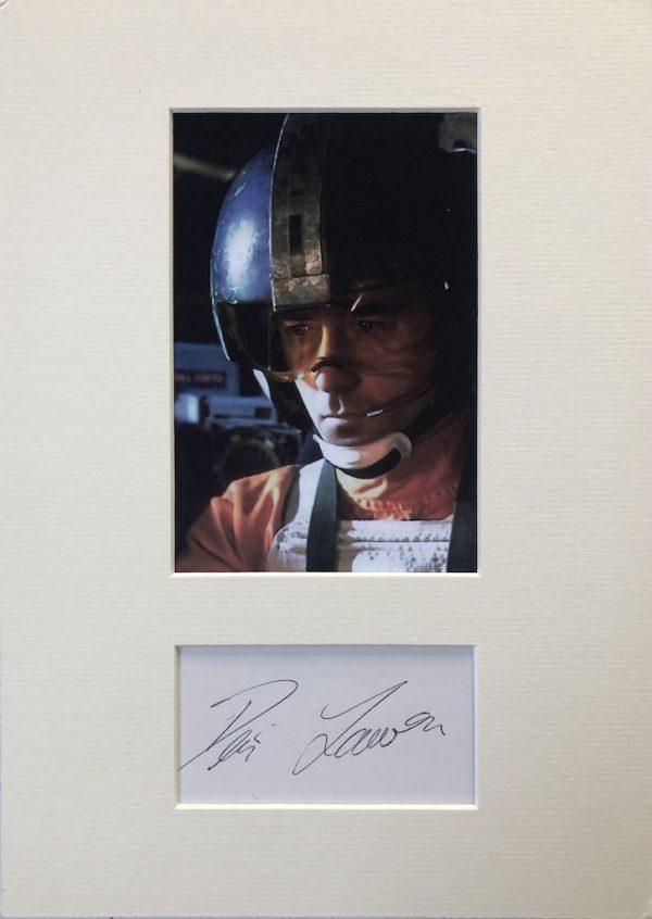 Denis Lawson Autograph Page