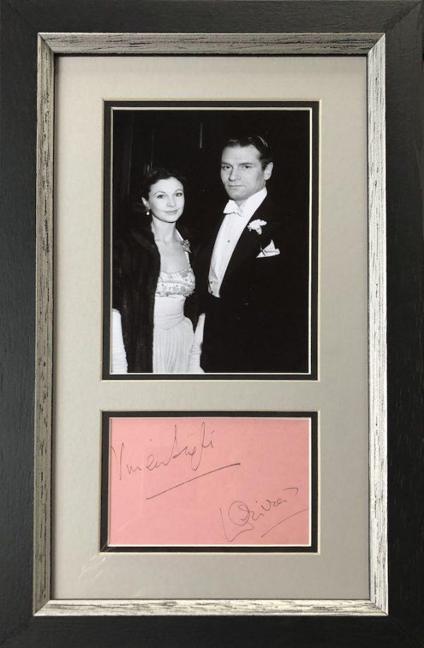 Vivien Leigh & Laurence Olivier Framed