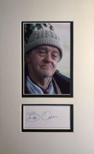 Bill Owen Autograph Mounted