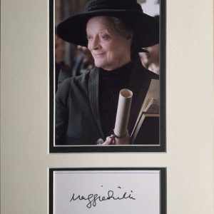 Due to the international success of the Harry Potter movies, she is widely known for playing Professor Minerva McGonagall, opposite Daniel Radcliffe in the title role. She has appeared in seven of the eight films in the series from 2001 to 2011.