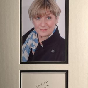 Victoria Wood CBE (19 May 1953 – 20 April 2016) was an English comedian, actress, singer, composer, screenwriter, producer and director.