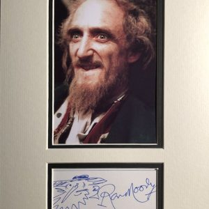 Ron Moody (born Ronald Moodnick; 8 January 1924 – 11 June 2015) was an English actor, singer, composer and writer best known for his portrayal of Fagin in Oliver!