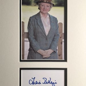 Julia Kathleen Nancy McKenzie, CBE (born 17 February 1941) is an English actress, singer, presenter, and theatre director. Known as Miss Marple in Agatha Christie's Marple (2009–2013).