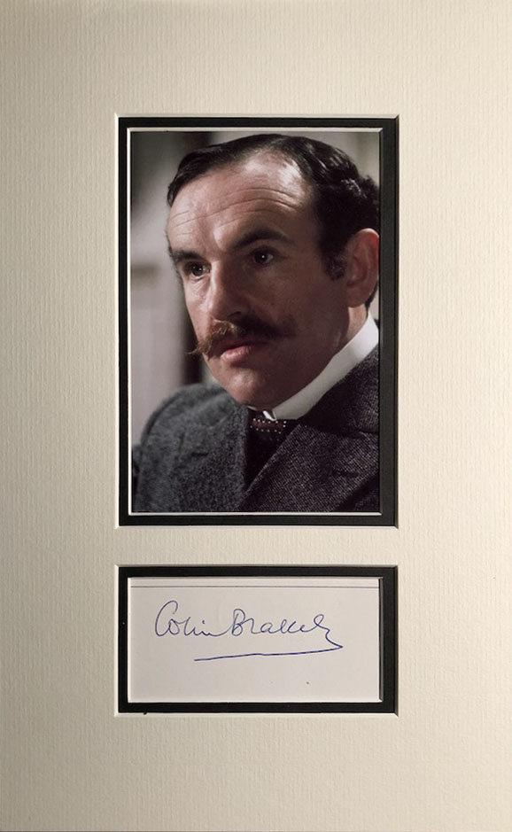 Colin Blakely Autograph Page Mounted