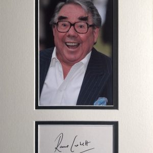 Ronald Balfour Corbett CBE (4 December 1930 – 31 March 2016) was a Scottish stand-up comedian, actor, writer, and broadcaster. He had a long association with Ronnie Barker in the BBC television comedy sketch show The Two Ronnies.