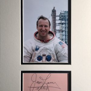 James Arthur Lovell Jr. (born March 25, 1928) is an American retired astronaut, naval aviator, and mechanical engineer. In 1968, as command module pilot of Apollo 8, he became one of the first three humans to fly to and orbit the Moon.