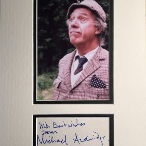 Michael William ffolliott Aldridge (9 September 1920 – 10 January 1994) was an English actor. He was known for playing Seymour Utterthwaite in the television series Last of the Summer Wine from 1986 to 1990