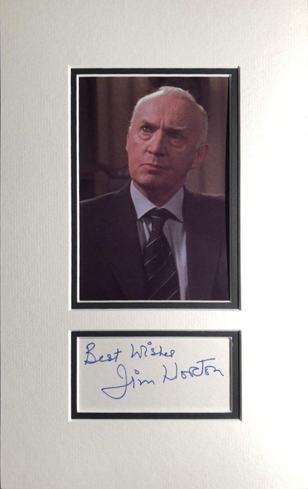 Jim Norton Autograph Page