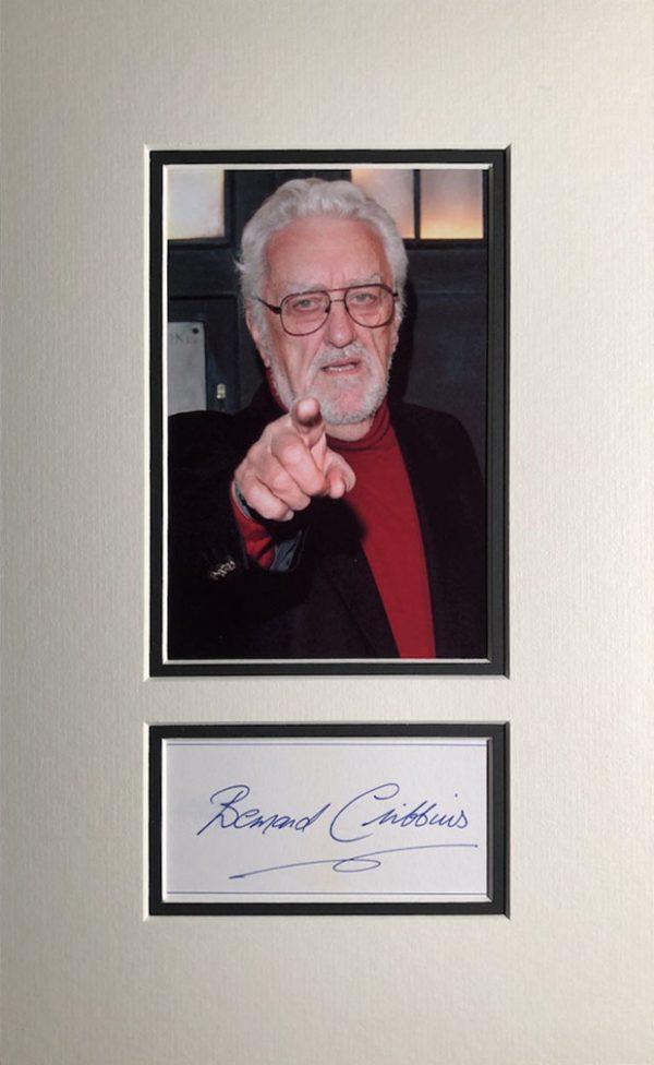 Bernard Cribbins Autograph Page