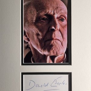 Donald Eccles (26 April 1908 – 2 February 1986) was an English character actor,  he acted in the film A Taste of Money and later appeared in many other films including A Midsummer Night's Dream (1968), The Wicker Man (1973),