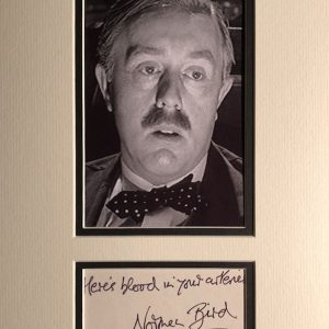 John George Norman Bird (30 October 1924 – 22 April 2005) was an English character actor, who appeared in more than seventy movies and over two-hundred television appearances.