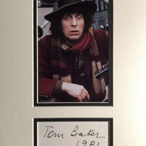 Thomas Stewart Baker (born 20 January 1934) is an English actor and writer. He is well known for his portrayal of the fourth incarnation of the Doctor in the science fiction television series Doctor Who from 1974 to 1981.