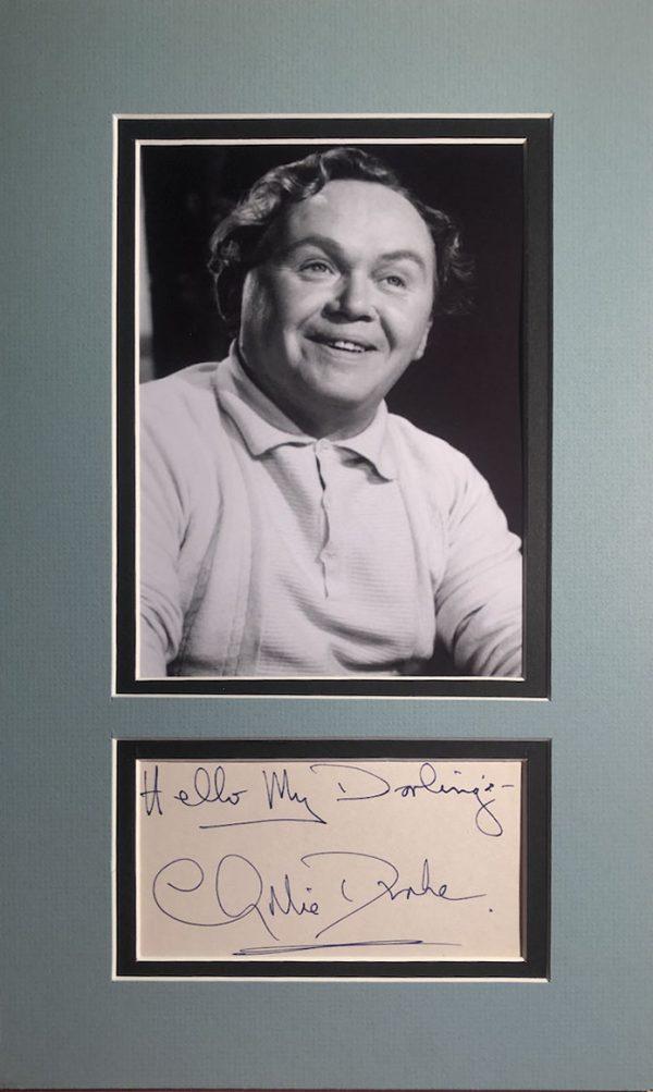 Charlie Drake Autograph Page